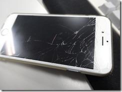 iPhone6 画面(ディスプレイ)が割れた!修理までの流れ AppleCare+未加入のケース