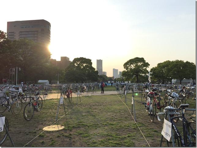 横浜トライアスロン2016 事前準備