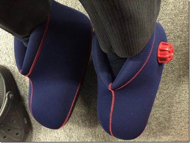 履くタイプの足用湯たんぽが超絶はかどる件