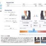アシックスストアのDYNAMIC FOOT IDで定点観測。プロネーションが。。